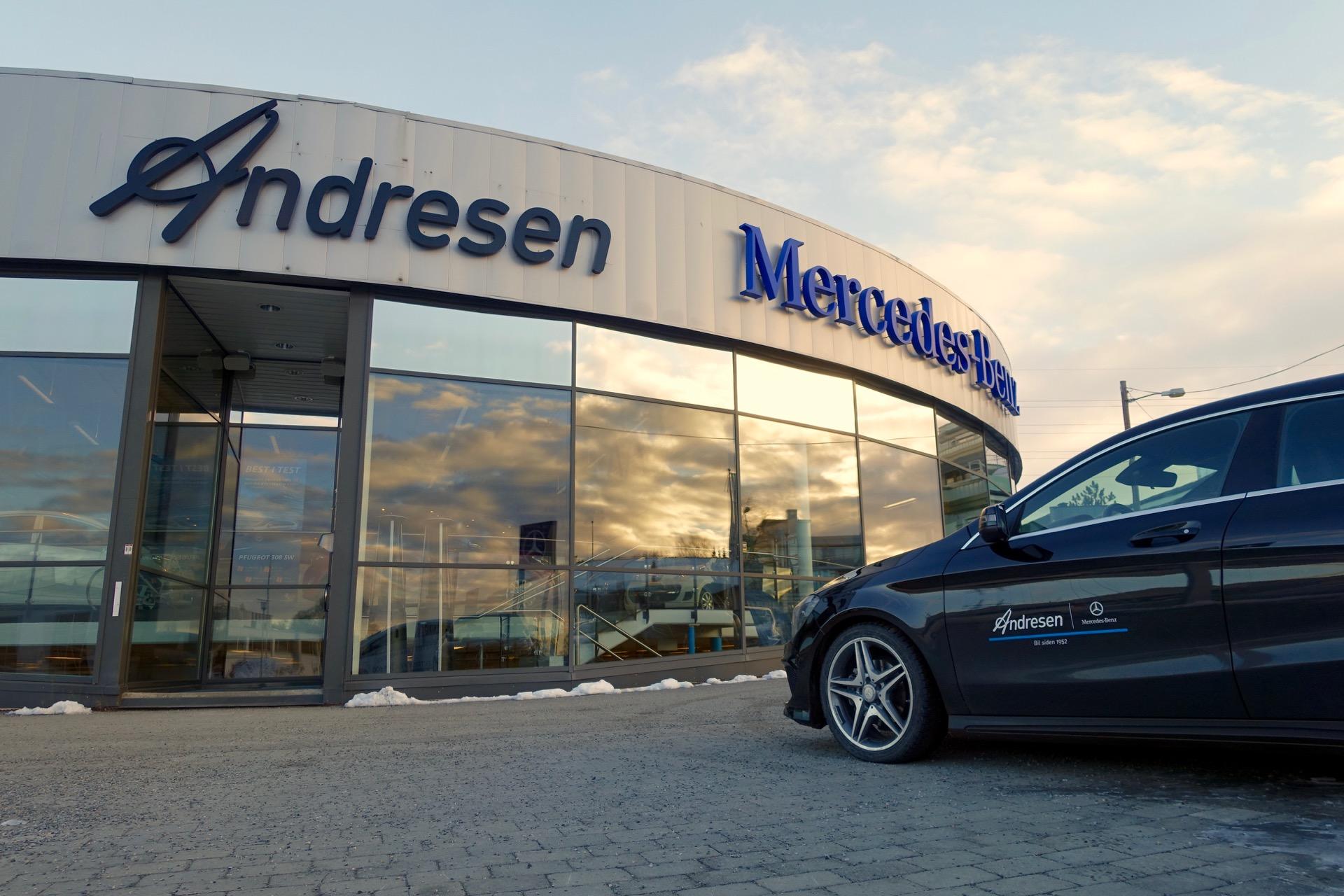 Andresen Ski - Mercedes-Benz