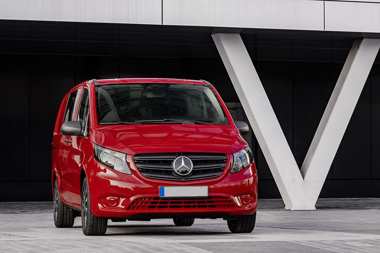 Nye Mercedes-Benz Vito og eVito Tourer bilde