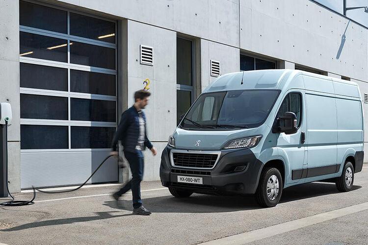 Peugeot eBoxer på vei! bilde