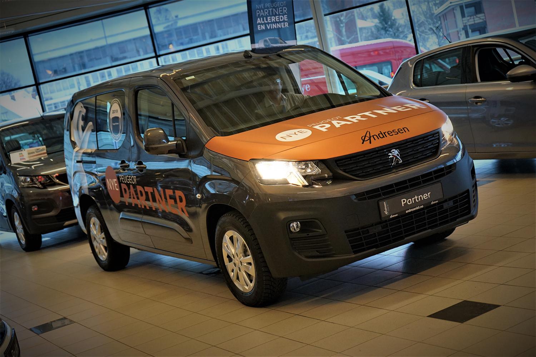 Lanseringskampanje Nye Peugeot Partner bilde