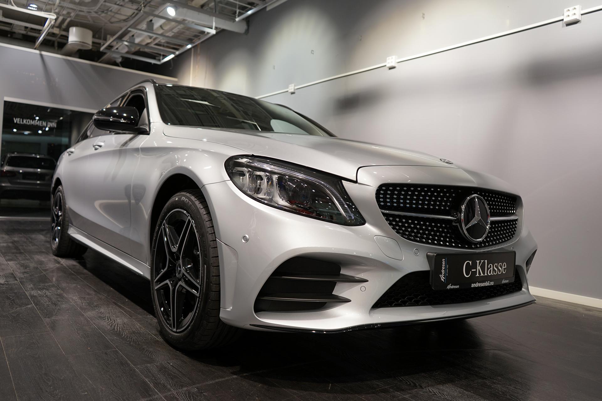 Lekker og ny Mercedes-Benz C-Klasse bilde