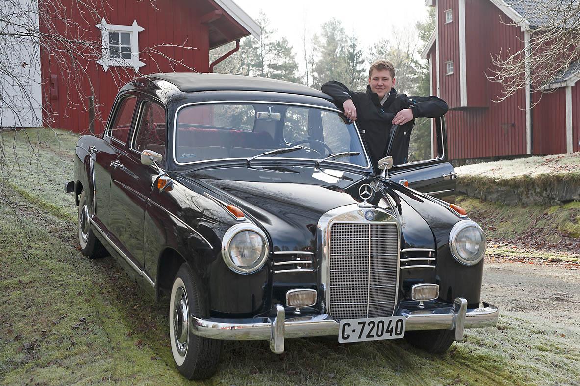 Historien om Ponton serien til Mercedes bilde