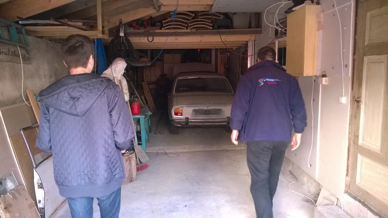 Peugeot 504 hos Andresen bilde
