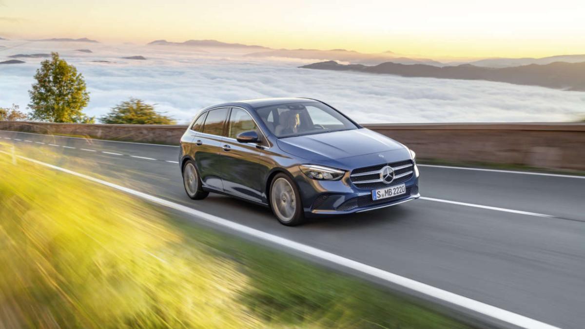 Helt nye Mercedes-Benz B-Klasse! bilde